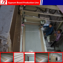 2-30 million Gypsum drywall manufacturing process/gypsum board making machine/gypsum board production line in China