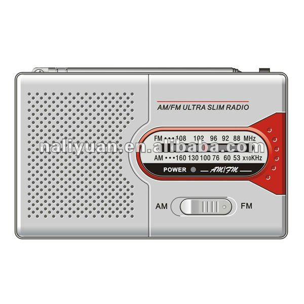 FM/AM 2 Band Portable Radio With Speaker