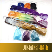 "Wholesale 24"" 43colors ombre colored synthetic jumbo braiding hair ombre braiding hair"