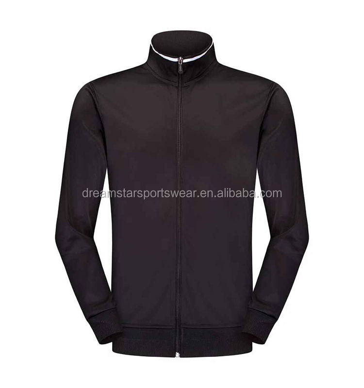 Wholesale Top Quality Adult Tracksuits/Soccer Jackets Men 2019