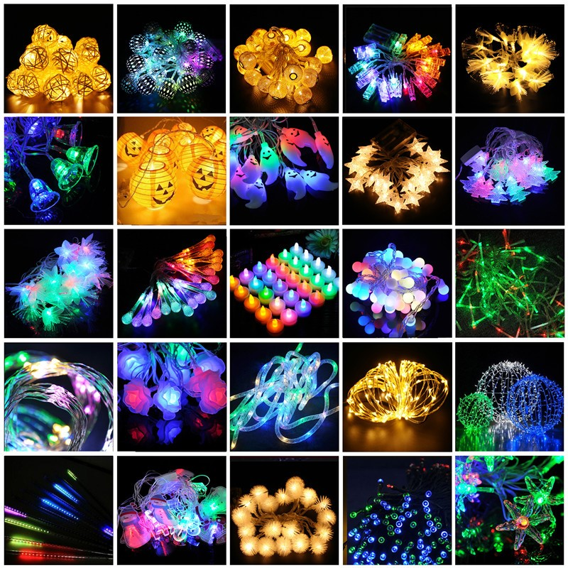 Best Sell Night Club Event Xmas NewYear Decor AC110 220V High Volt 3D MADRIX 50cm 240LED White DIP Meteor Rain Drop Fairy Light