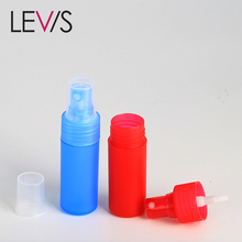 Luxury cheap colored fancy 10ml 20ml 25ml 30ml 40ml perfume packaging plastic bottles atomizer spray