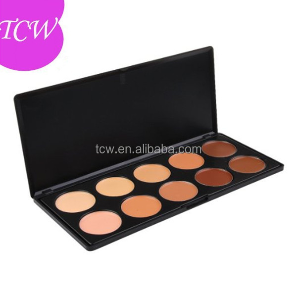 Promotion Camouflage <strong>Face</strong> Base Makeup Foundation 10 colors Private Label Contour Concealer Palette