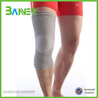 Sports pain relief Nylon cotton tight knitted high elastic knee support