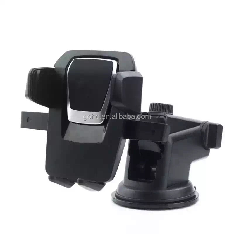 Universal windshield and dashboard car mount phone holder