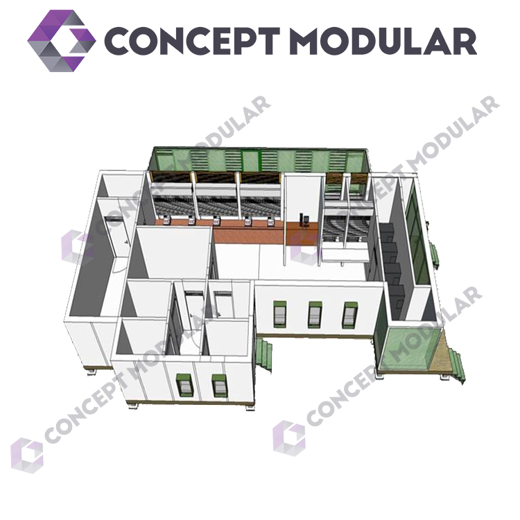 Custom high quality prefab concrete houses hot sales prefab concrete houses made in china