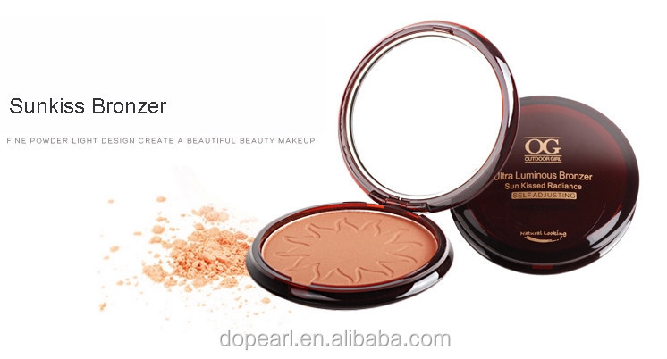 sunscreen make up bronzer powder palette