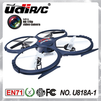 U818A -1 low voltage warning uav rc drone helicopter with HD camera