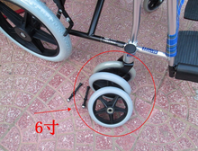Silent wheels for wheelchair,caster wheels for wheelchair