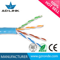 Factory Directly Provide High Quality 305M Box BEST Cat5e network cable brands With Black PE