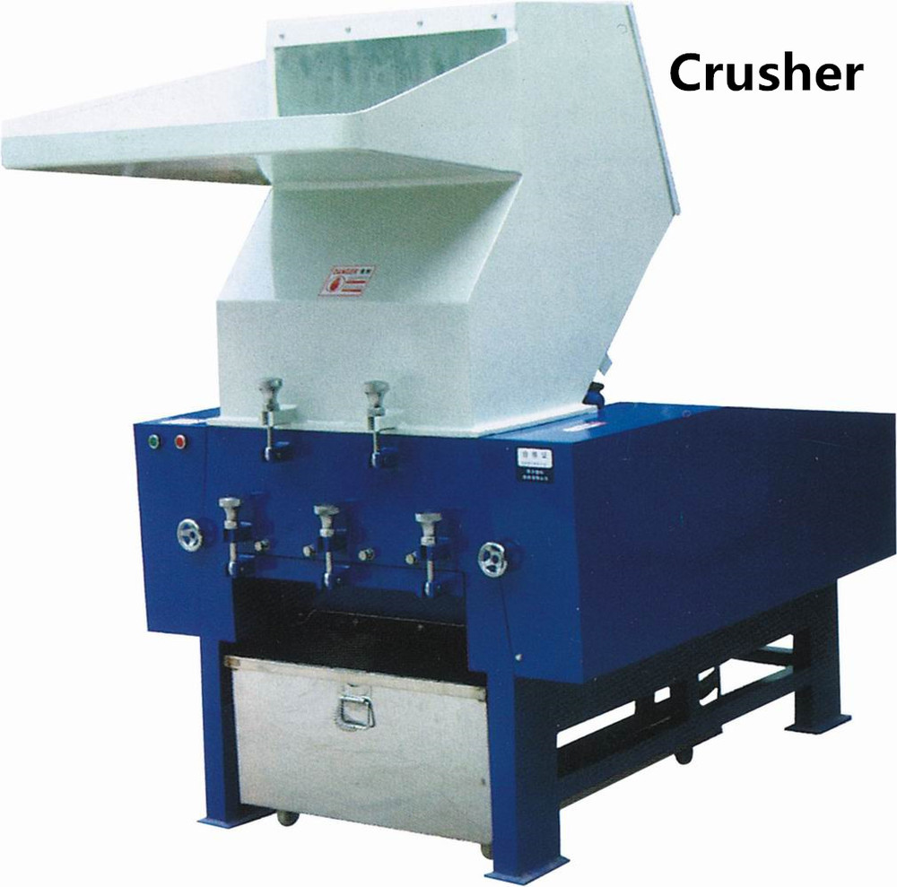 plastic shredder/ crusher machine for film/ bag/ bottle