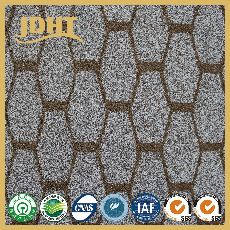 JD-254 high quality Colorful Granular modified Bitumen coil waterproofing sheet