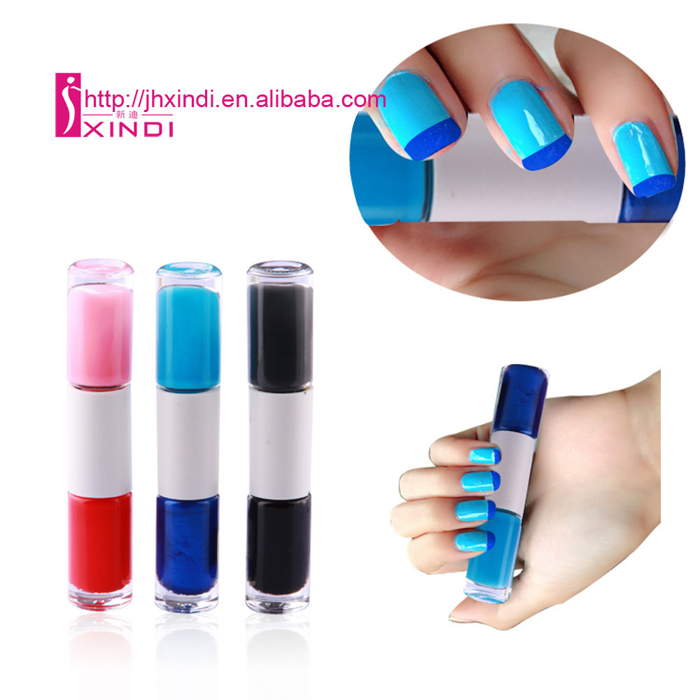 Hot Sales 10ml Double Point sugar flavour nail polish