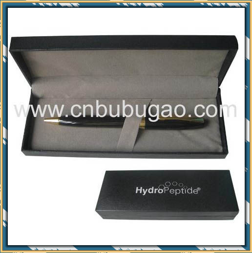 2017 promotion items wedding return luxury gift long engraved gift box metal ballpen with pen case