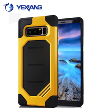 2017 New Arrival Super Hornet PC+TPU Mobile Phone Case cover for samsung note8 mobile phone case
