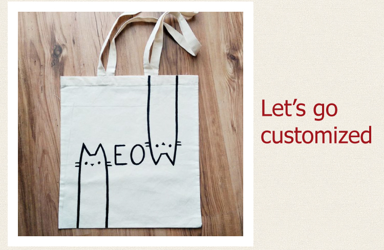 Shanghai Customized Colorful Eco-Friendly High Quality Thick Tote Canvas Bag