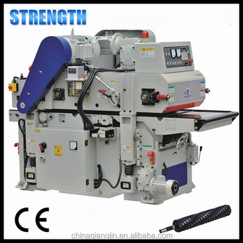High speed woodworking double sided planer for the width 400mm and 600mm with CE
