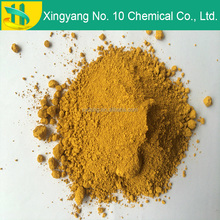 pigment yellow iron oxide for concrete paving construction