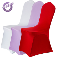 443 Wholesale chiffon Cheap wedding spandex chair covers 1.00 for sale