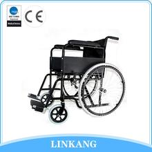 High quality stainless steel kids manual wheelchair