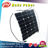 50Wp manufacturer ETFE semi flexible sunpower solar panel module