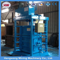 horizontal Waste cardboard press baler, carton press baling machine, waste paper recycling machine