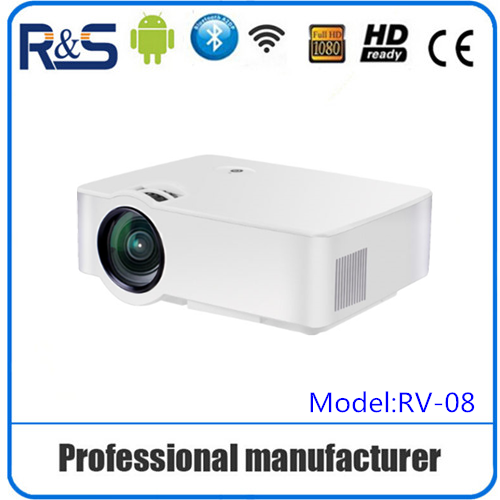 2016 new products mini proyector connect mobile phone directly support TF/HDMI/keystone