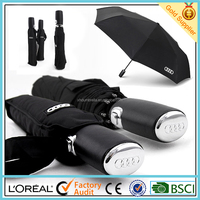 8 ribs strong windproof auto open close travel umbrella with high quality