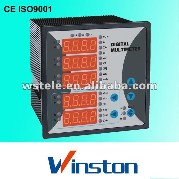 WST292E-9T5 multifunctional network electrical instrument meter