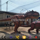 DW-1100 Theme Museum Huge Realistic Animatronic Dinoaur Model for Sale Park Dragon