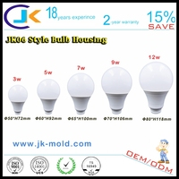 2015 china supplier raw material 7w 15w e27 b22 led light bulb components