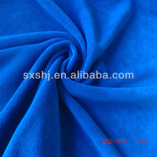 Solid Thick 400GSM Knitted Polar Fleece Fabric