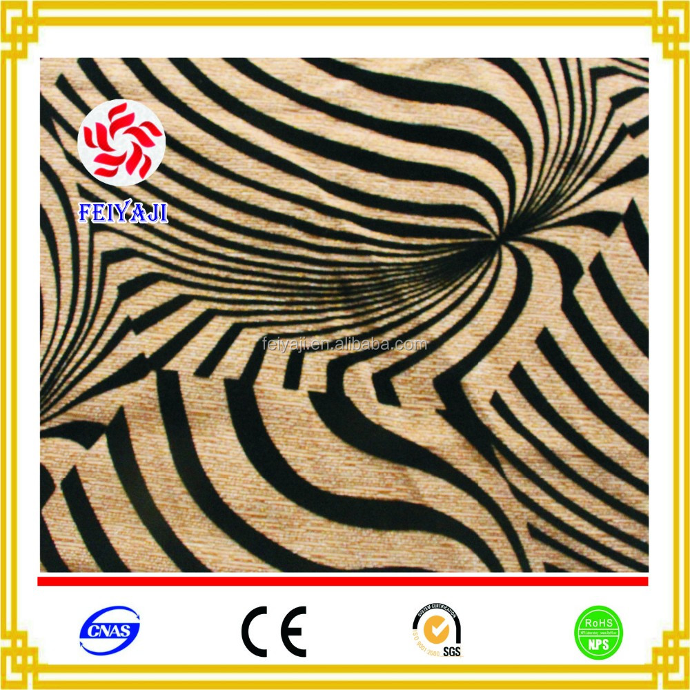 Hot selling flocked fabric Manufacturer China Textiles Flock in Flock Fabric Used for Sofa Fabric