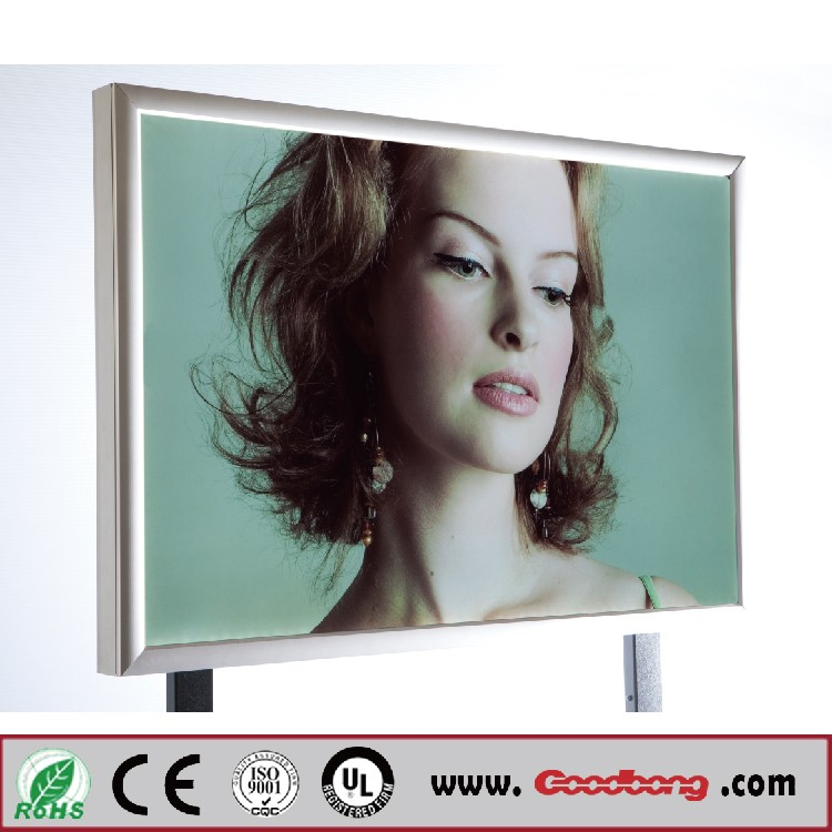 Indoor Led Display Lighting Crystal Light Box For Advertising