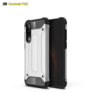 Laudtec Hybrid Shockproof PC Soft TPU Back Cover Case For Huawei P30 P30 Lite