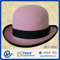 ladies wool felt derby hats