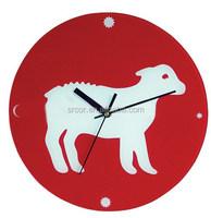 fashionable acrylic wooden clock kits