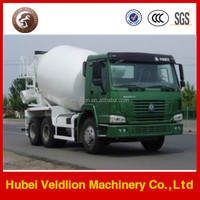 China famous brand HOWO 8cbm concrete mixer truck with high roof