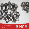 Din 933 stainless steel hex head bolts and nuts