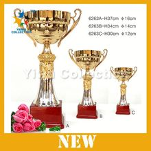 customize wholesale trophy,metal gold sport trophy cup,metal wine cups