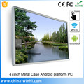 47 inch Wireless wifi function Android 4.0 PC Touch Screen Monitor
