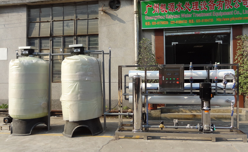 KYRO-6000L/h 2015 Good design Ro machine for battery water plant