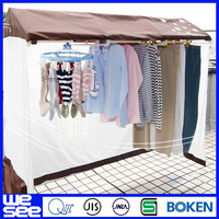 balcony clothes electric ceiling mounted drying rack