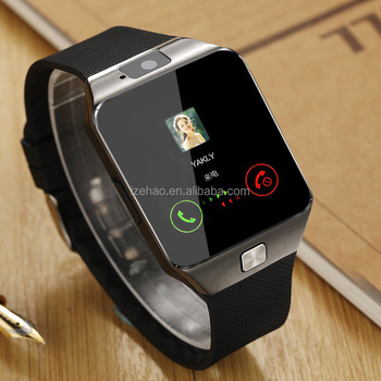 Factory hot smart watch MTK6261 Mobile Watch Phones GT08 and DZ09 Smart Watch