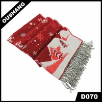 D070 Christmas Scarf 2016 Snow Scarves