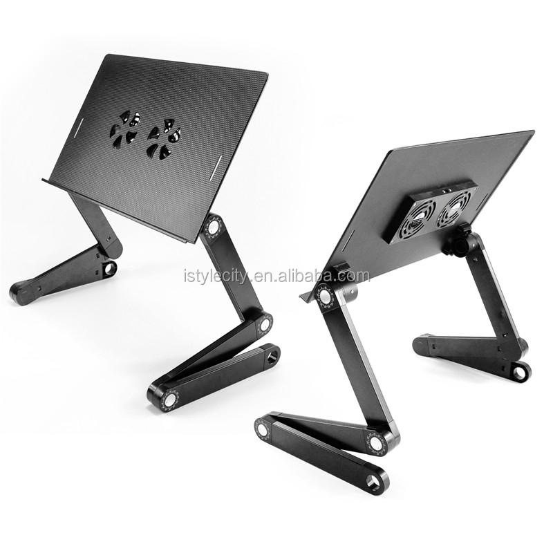 modern portable design foldable laptop stand laptop bed desk