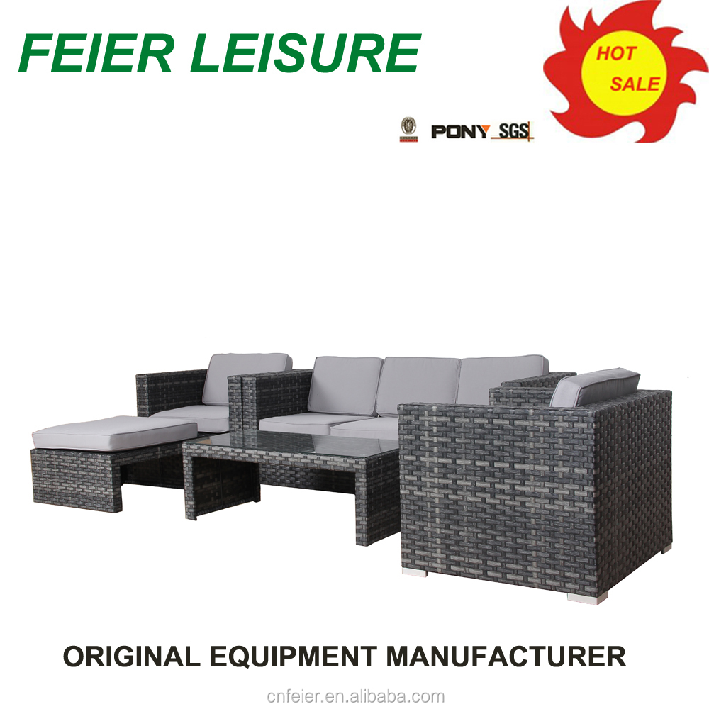 new modern rattan patio furniture with high quality