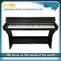 Upright electric piano synthesizer 88 keyboard