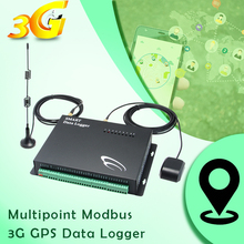 Multipoint Modbus 3G Data Logger gps gprs guard tour monitoring system