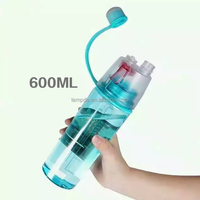 new products 2016 water spray bottle fancy design sports sipper bottle portable